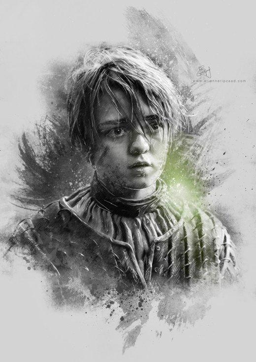 arya_stark___game_of_thrones_by_galen_marek-d64vilr
