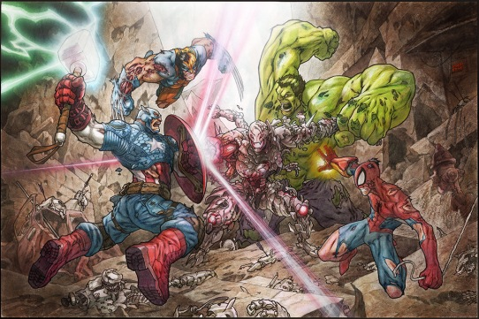 avengers_vs_ultron_by_minohkim-d8far2c