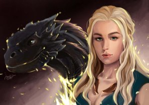 game_of_thrones_____daenerys_targaryen_by_harryyong-d6iddll