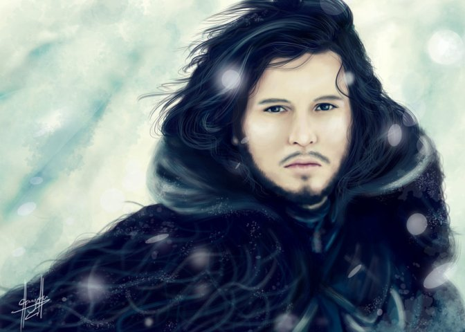 game_of_thrones__jon_snow_by_charychu-d4wvrjr