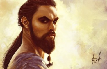 game_of_thrones__khal_drogo_by_charychu-d4wye7v