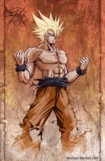 Goku___super_saiyajin_color_by_FASSLAYER