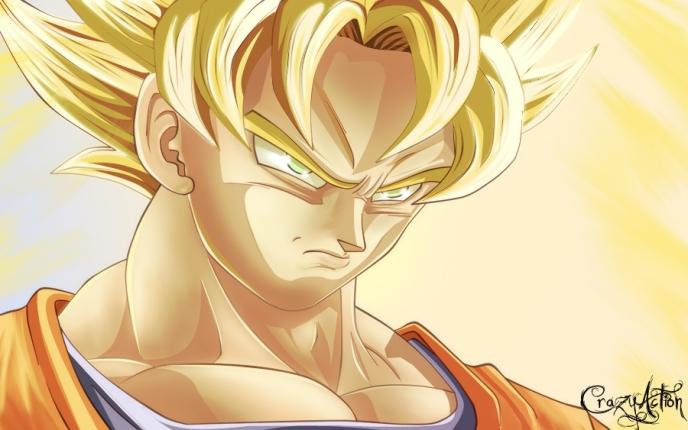 Goku_by_Crazyaction
