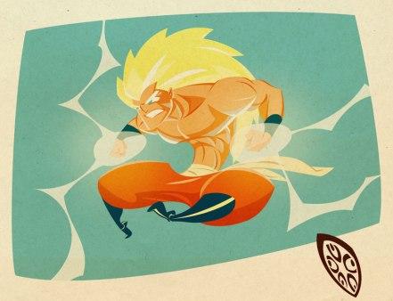 Goku_by_Isema