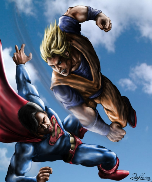 goku_vs_superman_by_diegora-d3952d6
