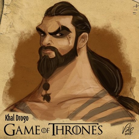khal_drogo___game_of_thrones_by_fabiovalle-d5i2s3q