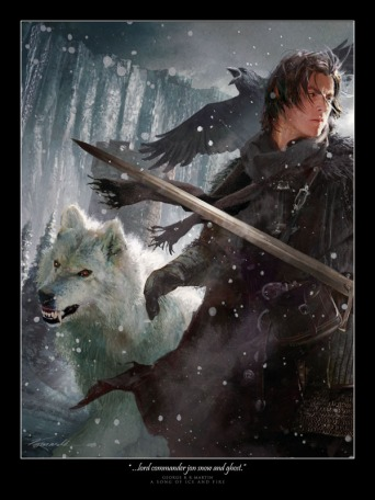 Lord_Commandar_Jon_Snow_by_DabelBrothers