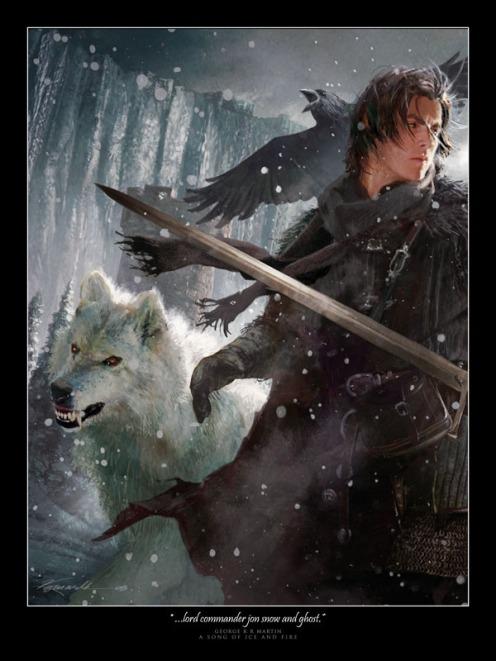 Lord_Commandar_Jon_Snow_by_DabelBrothers