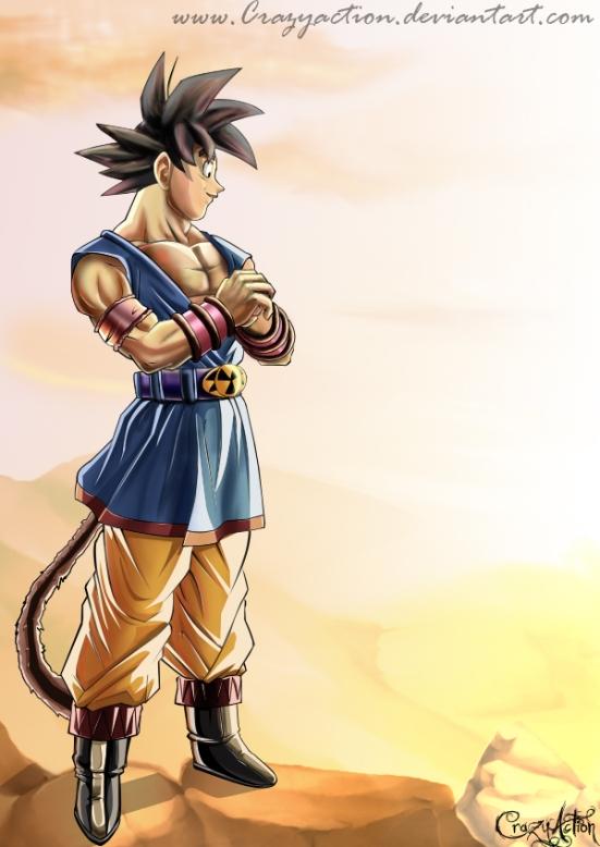 Son_Goku_by_Crazyaction