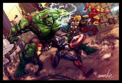 the_avengers_by_emmshin-d4hgg8n