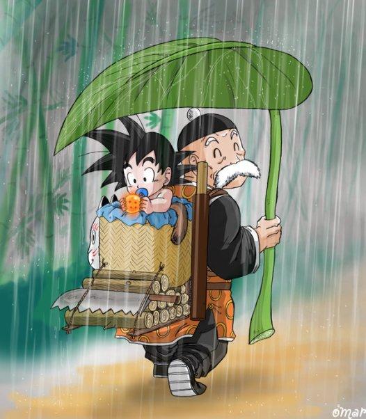 Under_Paozu_rain_by_WindWak3r