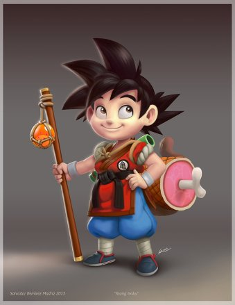 young_goku_by_reevolver-d6rb14n